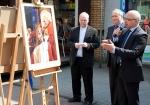 Jan Paweł II plenerowa wystawa chorzowskiej Wyspy