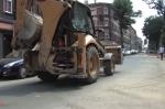 Ulica Wandy w trakcie modernizacji
