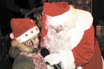 Mikołaj w limuzynie
