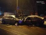 Zderzenie spowodowane przez pijanego kierowcę