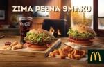 Zima pełna smaku w McDonalds! Wielki powrót Drwala i Zbójnickiej.