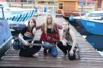 Rockowe dziewczyny wyróżnione