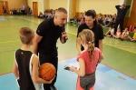 Legenda polskiej koszykówki odwiedziła chorzowską szkołę