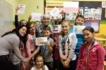 Goście z Rumunii i Jordanii w chorzowskiej szkole