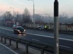 Samochód wjechał na tory. Jak kursują tramwaje?