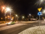 Ścieżka rowerowa i róże przy ul. Kościuszki  Fotoreportaż