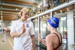 Mistrzyni olimpijska potrenuje z chorzowskimi uczniami