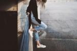 Jak dobrać jeansy damskie do sylwetki?