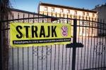 Strajk w chorzowskich szkołach