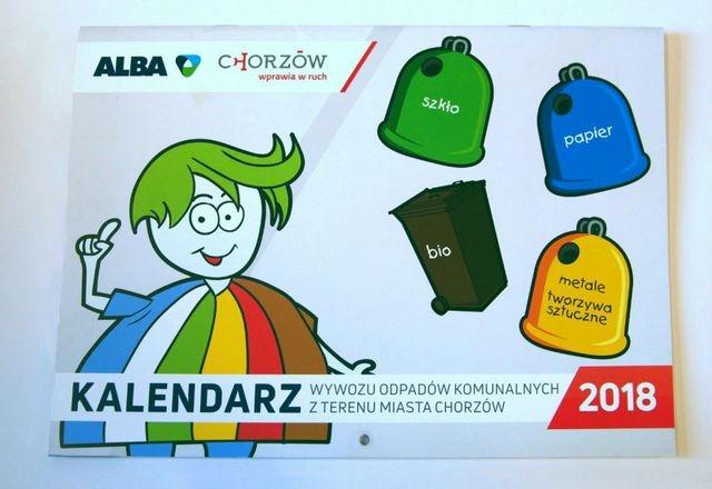 Ten kalendarz przypomni o segregacji odpadów